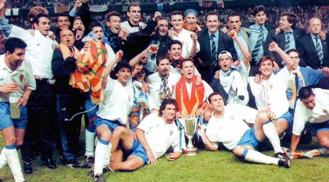 Aniversario Recopa de Europa 1995 patrocinado por Cisternas Agudo