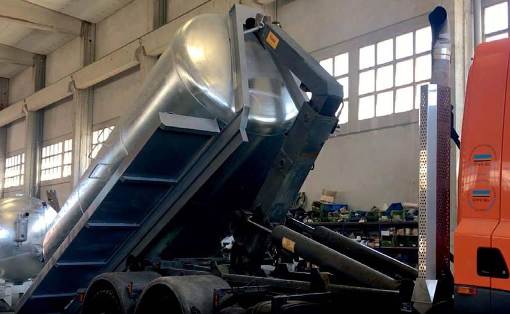 Cisternas de gancho multilift modelos GM12-14