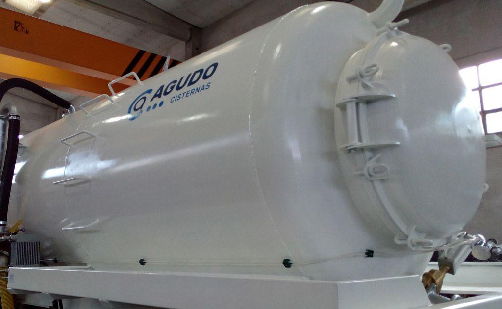 Cisterna de purines modelos v3-v8 de 1 eje