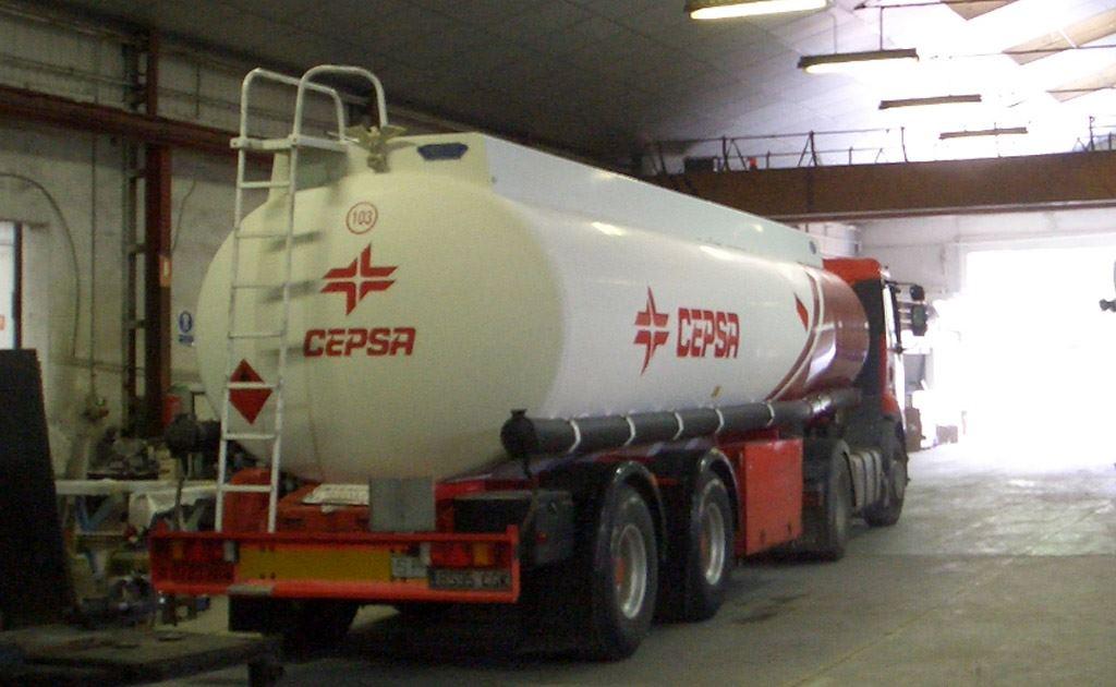 Cisternas para carburantes modelos G7 a G26