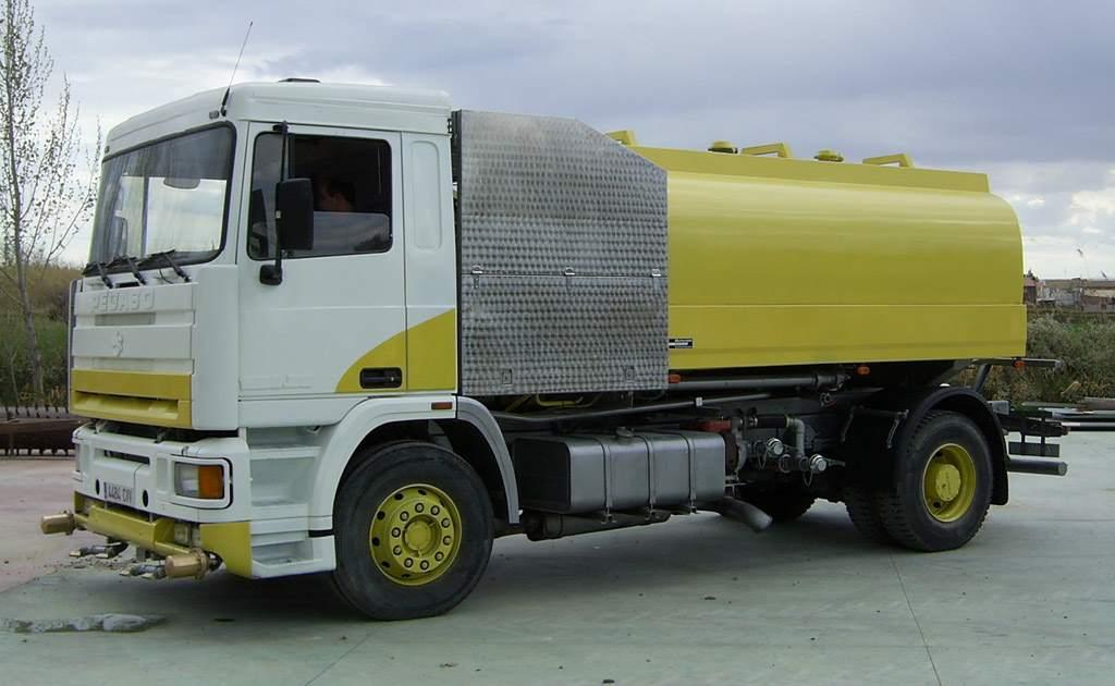 Cisternas para riego y baldeo modelos AG SH15 TF 13CA