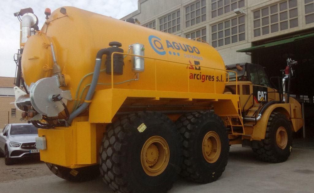Vehículos construcción para ejecuciones especiales en minas