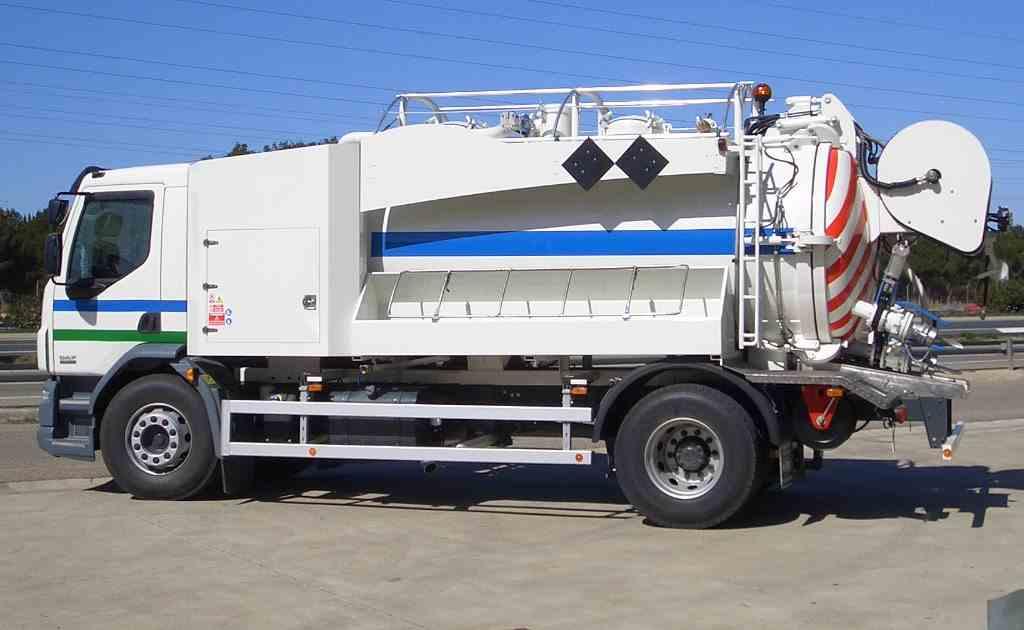 Camión para Limpieza de Alcantarillado