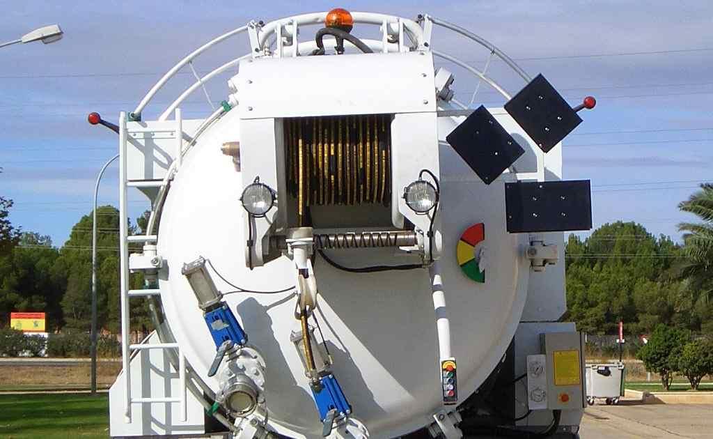 Equipamiento Accesorio para Cisterna Limpieza Industrial y Alcantarillado